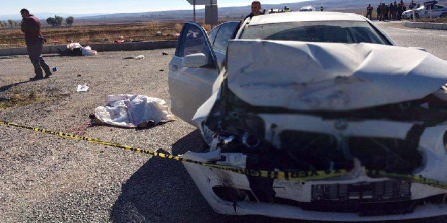 Çorum'da feci kaza: 4 ölü, 3 yaralı