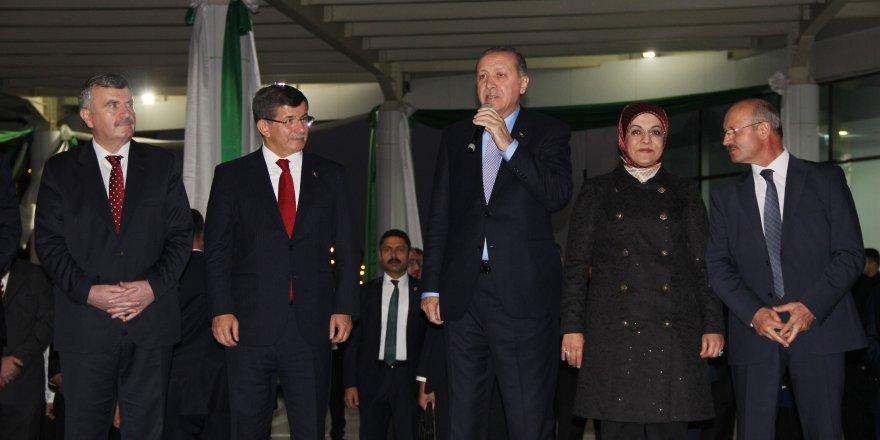 Erdoğan, Meram Belediyesi hizmet binasının açılışını yaptı
