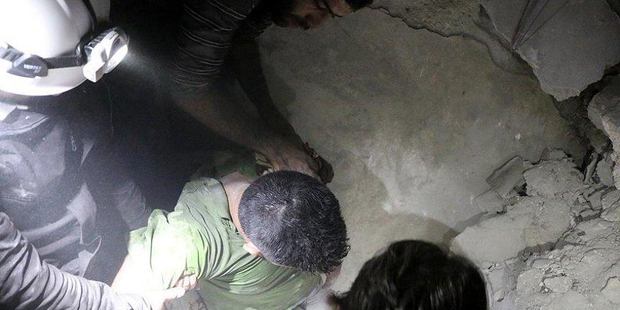 Halep'te yerleşim alanlarına saldırı: 8 ölü
