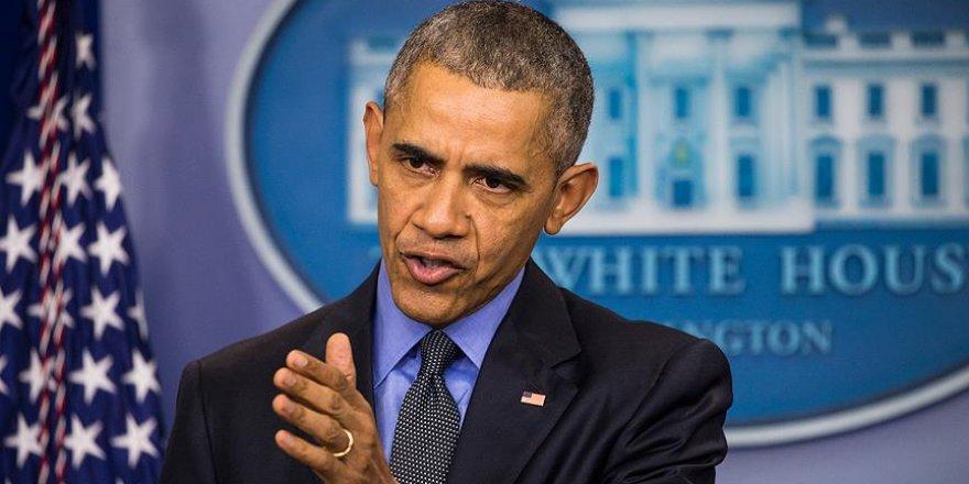 Obama, Suriye krizinin çözümü için diplomaside kararlı