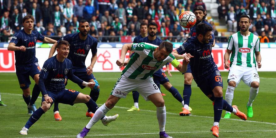 Atiker Konyaspor'un kâbusu Medipol Başakşehir
