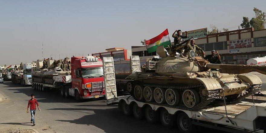 IKBY'den Musul'un doğu bölgesine askeri sevkiyat