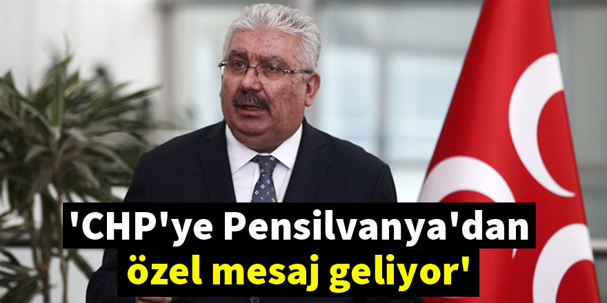 MHP'den CHP'ye 'parlamenter sistem' sorusu