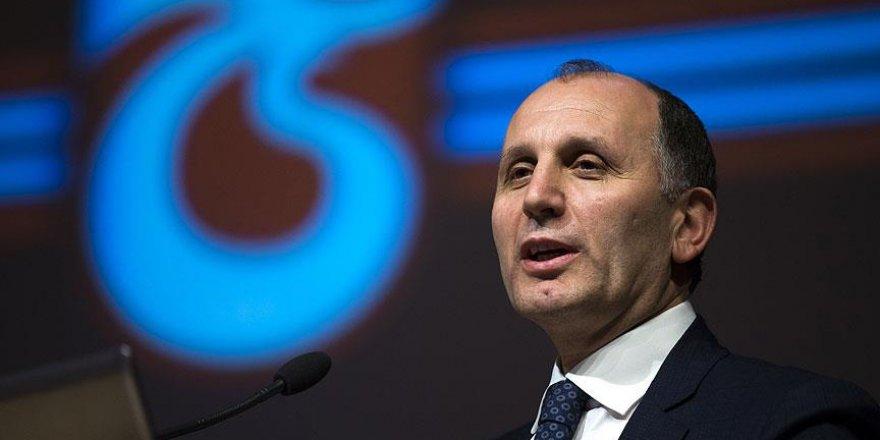 Trabzonspor Başkanı Usta'dan takımın geleceğine yönelik açıklama