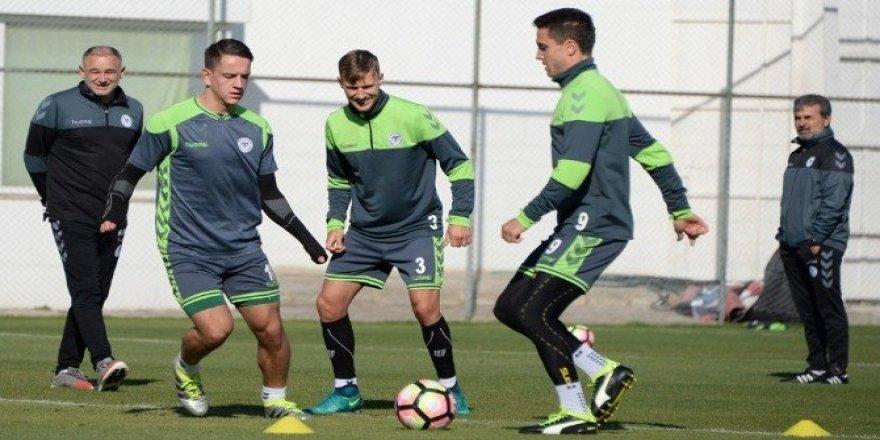 Konyaspor, Medipol Başakşehir maçı hazırlıklarını tamamladı