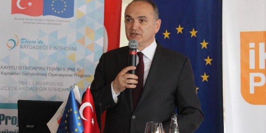 """Bakan Faruk Özlü: """"Amacımız, kayıtlı istihdamı artırmaktır"""""""