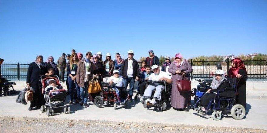 Beyşehir, engelli öğrencileri misafir etti