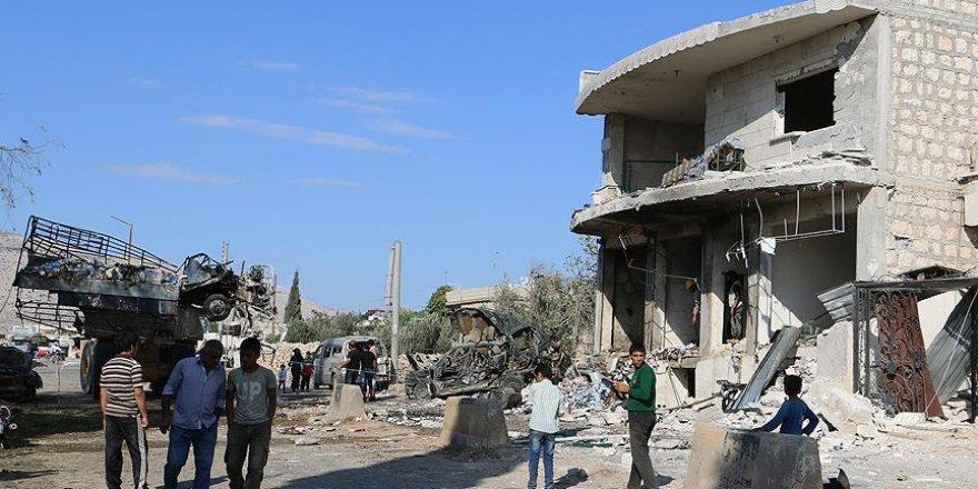 İdlib'te yerleşim yerine saldırı: 11 ölü