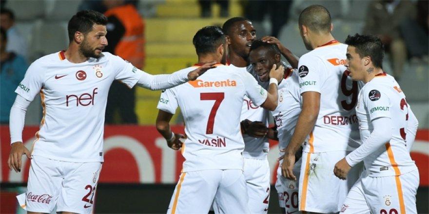 Bruma attı, Galatasaray 3 puanı kaptı