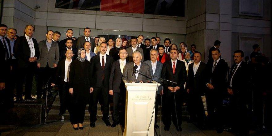 Yıldırım'ın milletvekilleriyle istişare toplantıları tamamlandı