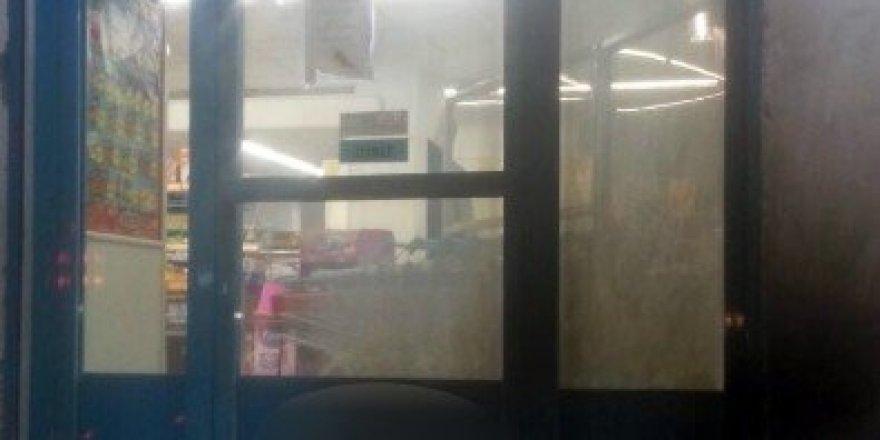 Diyarbakır'da markete molotoflu saldırı