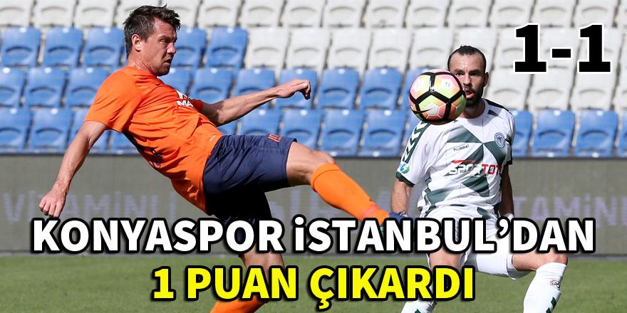 Atiker Konyaspor liderden puan kopardı!