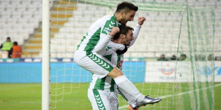Konyaspor'da Riad Bajic sonunda golü attı