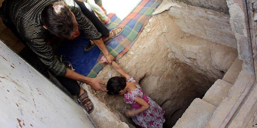 Suriye'de sığınak yapımı hız kazandı