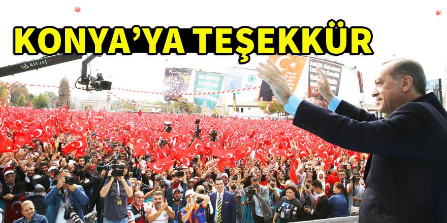 Ahmet Sorgun'dan Konya'ya teşekkür