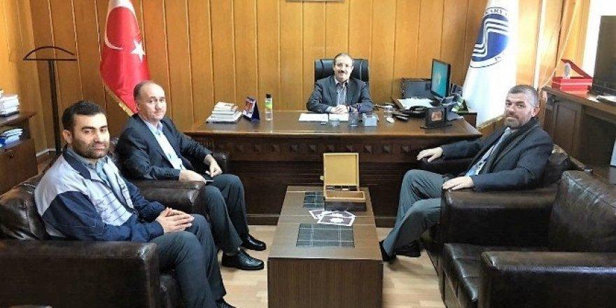 Lübnanlı Rektörden İlahiyat Fakültesine ziyaret