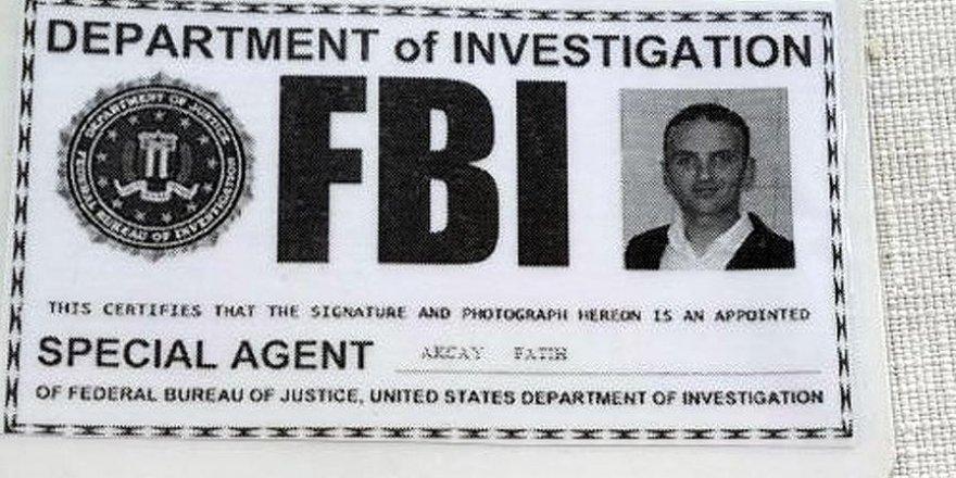 Sahte 'FBI' kimliğiyle yakalanan zanlı adliyede