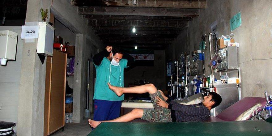 Türkmendağı'nın 'yer altı hastanesi'