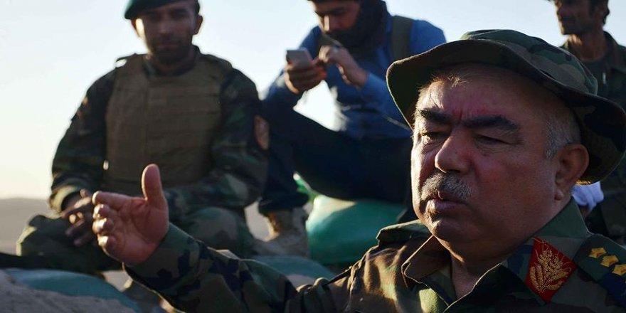 Afganistan'da Dostum'un konvoyuna saldırı