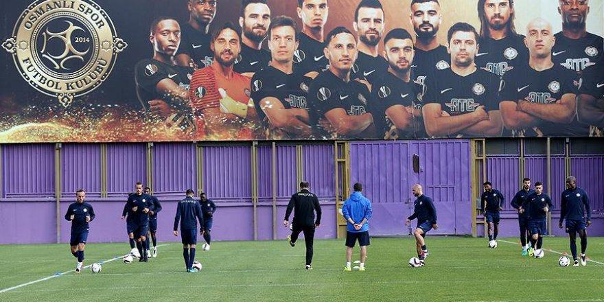 Osmanlıspor'da Villarreal maçı hazırlıkları