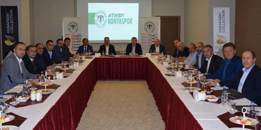Atiker Konyaspor yönetiminde görev dağılımı yapıldı