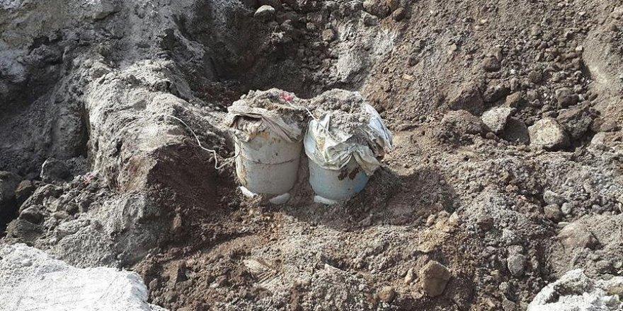 Tunceli'de el yapımı patlayıcı imha edildi