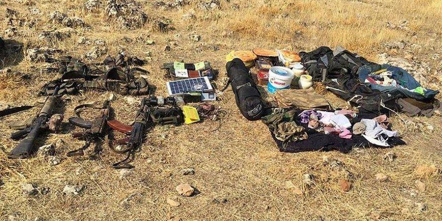 Siirt'te biri sözde 'Mava bölge sorumlusu' 3 PKK'lı terörist öldürüldü