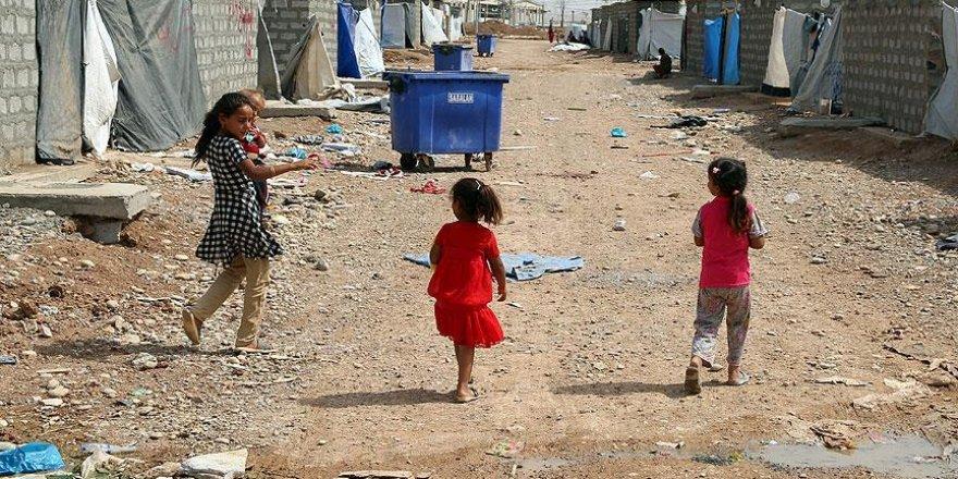 Musul'da 500 binden fazla çocuk risk altında