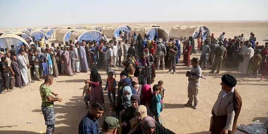 50 bin çadır hazırlandı