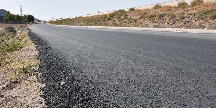 OHAL'de Batman! 17 günde 20 bin ton asfalt serildi