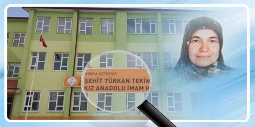 Konya'da FETÖ'nün el konulan okuluna şehit ismi verildi
