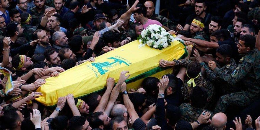 Hizbullah komutanı Hamadi'nin cenazesi toprağa verildi