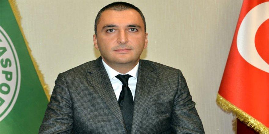 """Konyaspor Basın Sözcüsü: """"Hakeme yenildik"""""""