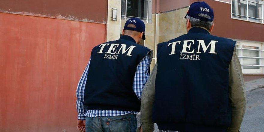 İzmir'de saldırı hazırlığındaki terörist yakalandı