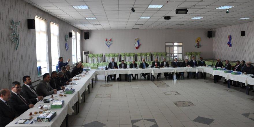 Konya İlçe Müftüleri toplantısı yapıldı