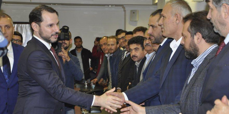 Albayrak, AK Parti Konya İl Başkanlığı'nı ziyaret etti