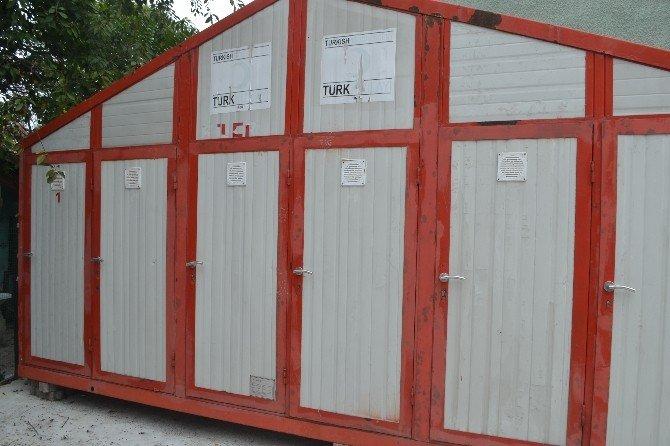 Türk Kızılayı Lüleburgaz Şubesi'ne çok amaçlı konteyner