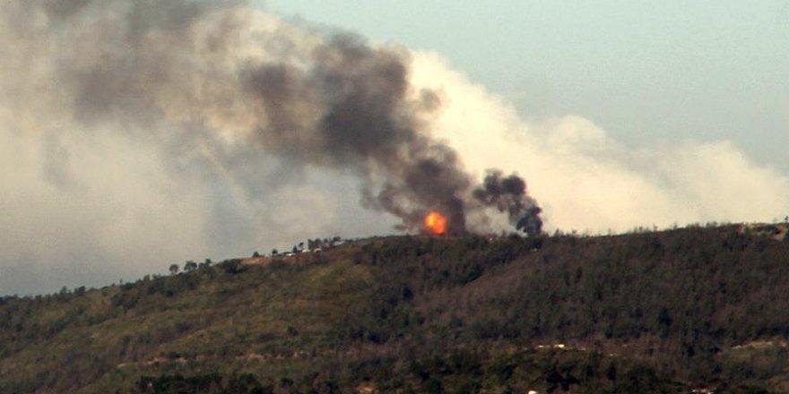 Suriye rejimi Türkmendağı'nı bombalıyor