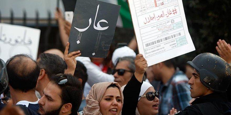 Ürdün-İsrail doğalgaz anlaşmasına protesto