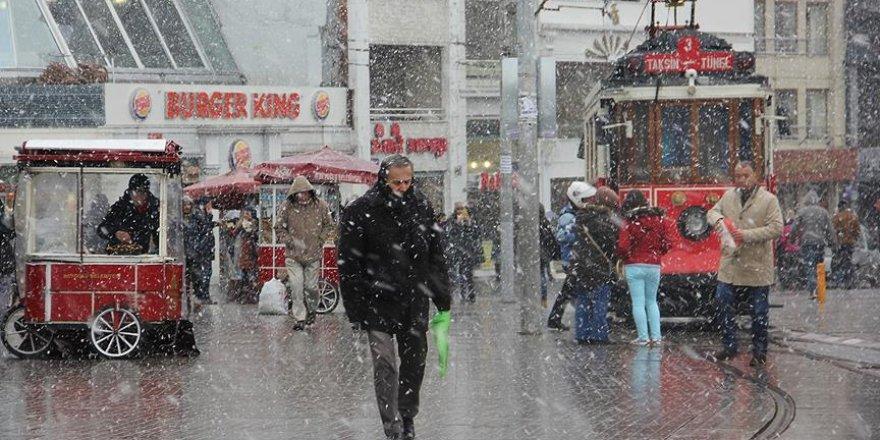 İstanbul'da kış hazırlıkları başladı