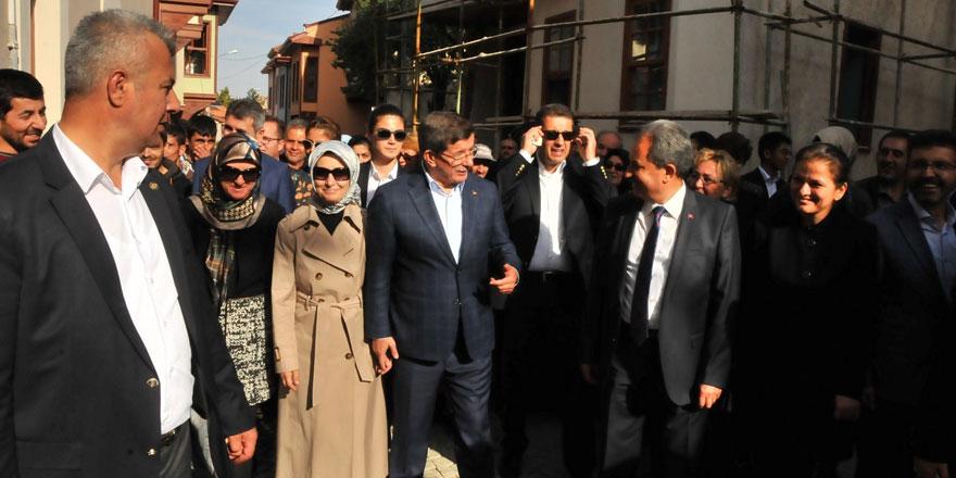 """Davutoğlu: """"15 Temmuz'da bize saldıranlar, bu ülkenin geleceğine saldırdı"""""""