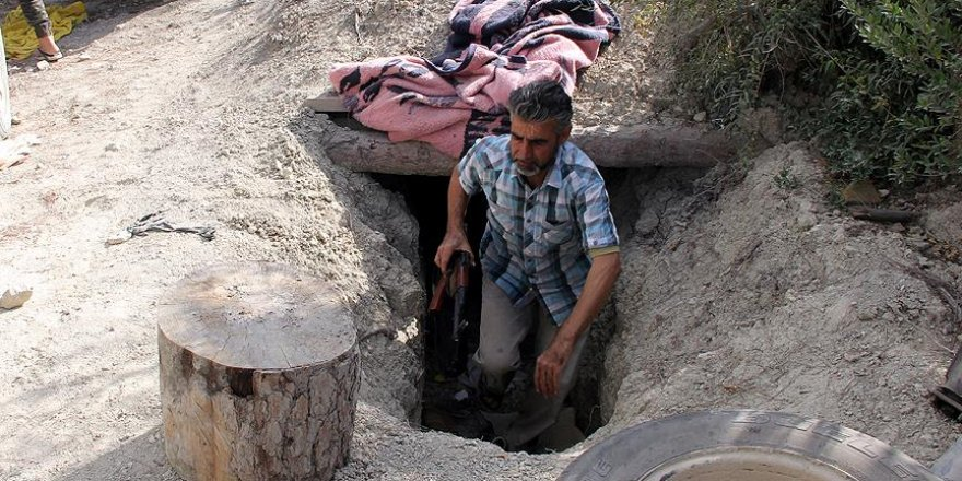 Türkmendağı'nda yer altında yaşam