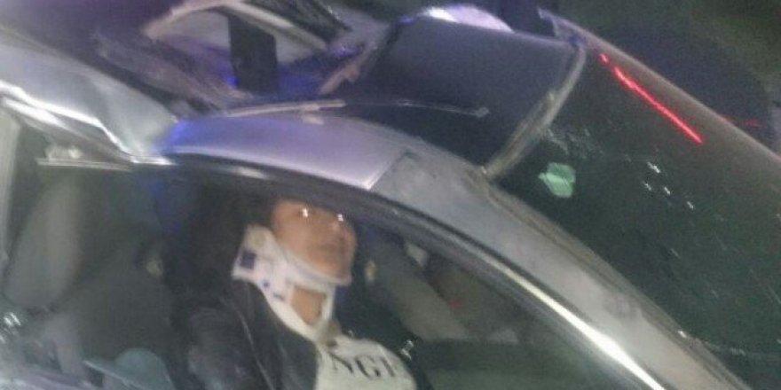 Malatya'da feci kaza: 3 yaralı