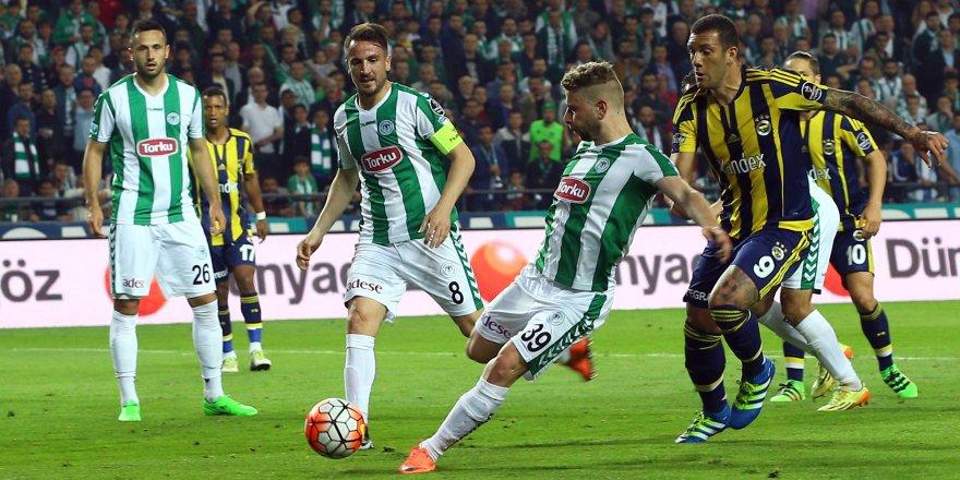 Atiker Konyaspor ile Fenerbahçe 31. randevuda