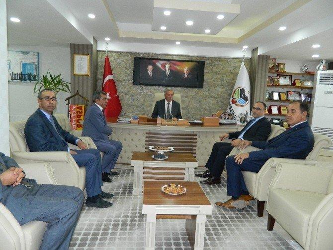 Bölge Müdürü Gülşen'den, Başkan Vahap Küçük'e ziyaret