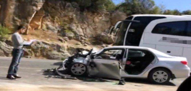 Yolcu otobüsü kaza yaptı: 3 ölü, 2 yaralı
