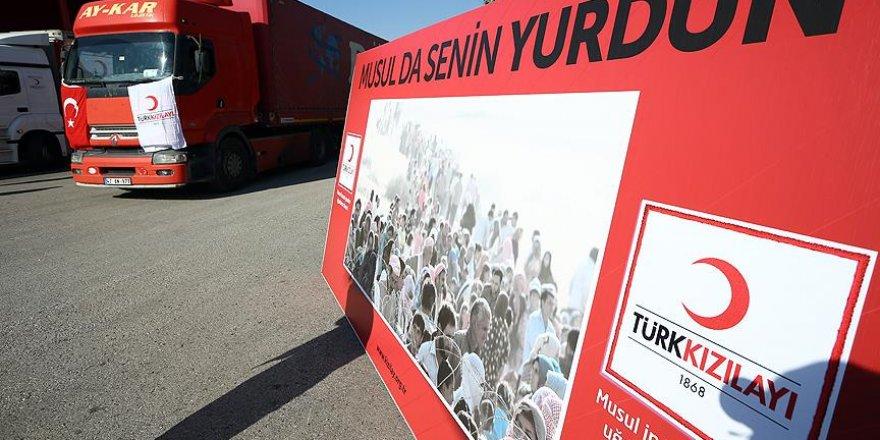 Türk Kızılayından Musul'a yardım