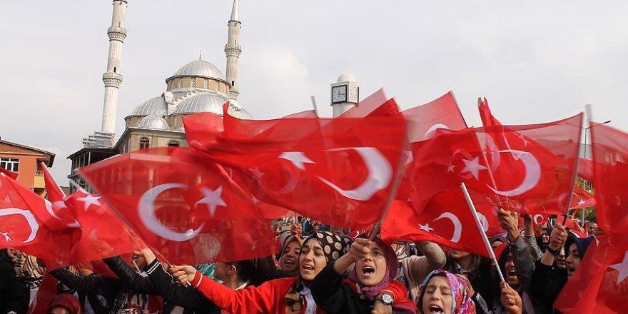 Bingöl'de terör örgütü PKK lanetlendi