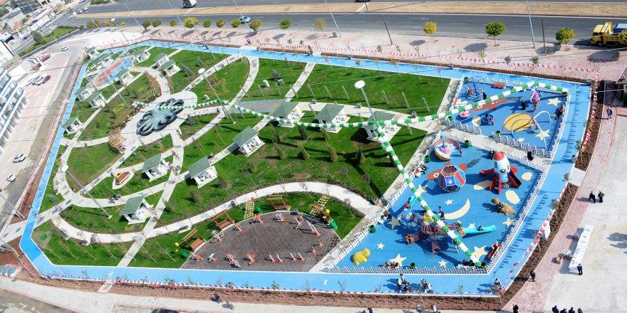 Şehit Erol Olçok Parkı hizmete açıldı