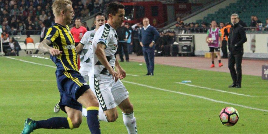 Konyaspor'un serisini Fenerbahçe bozdu